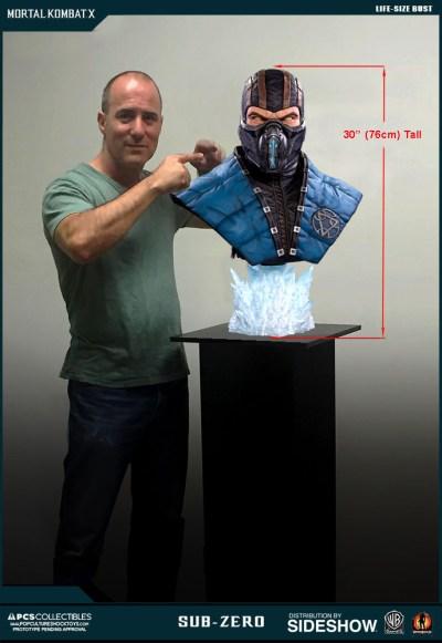 Mortal Kombat Sub-Zero Life-Size Bust by Pop Culture Shock ...
