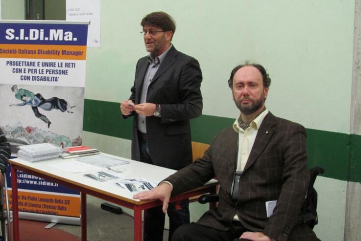 Rodolfo Dalla Mora e Nicola Marzano