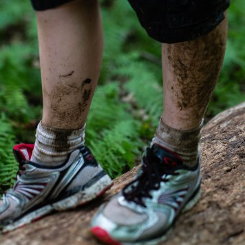 muddy legs and shoes = fun!