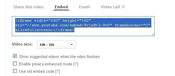 YouTube on my blog