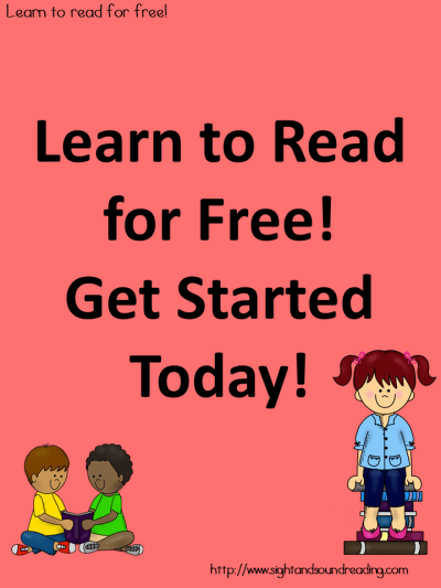 Learn to read free! Getting Started, How to use!
