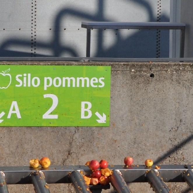 signalétique Usine Andros - exemple panneau mural extérieur