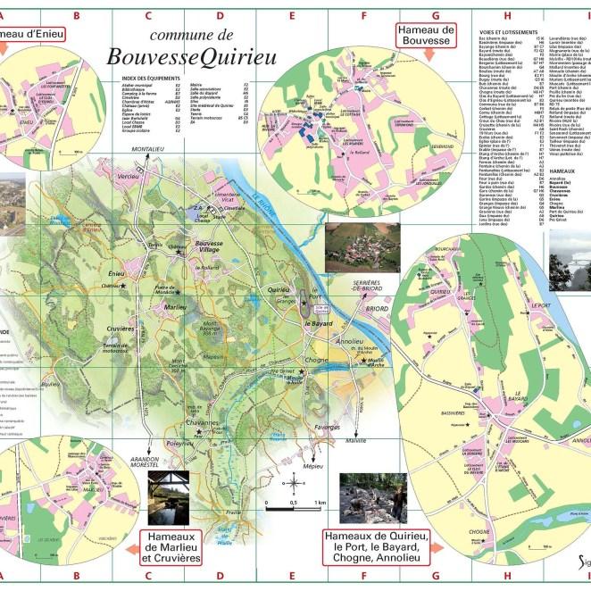 Plan Bouvesse Quirieu (38)