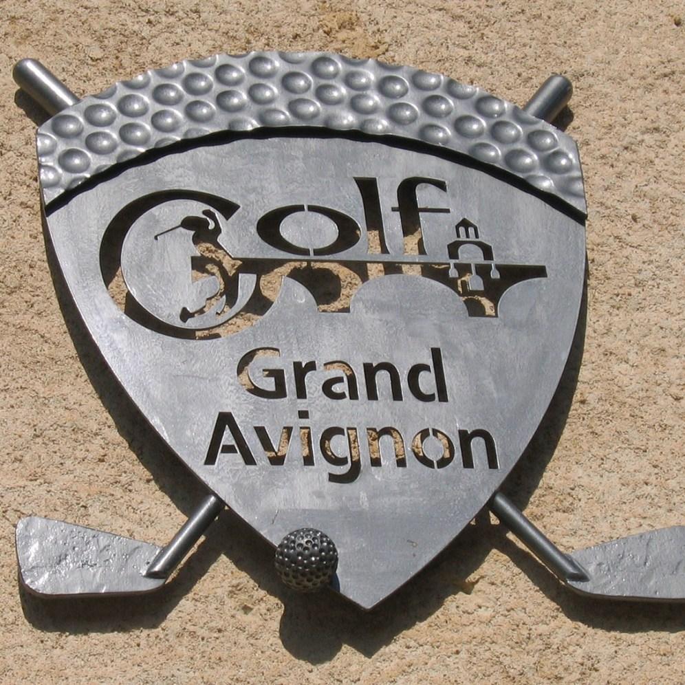 Enseigne Golf Grand Avignon (84)
