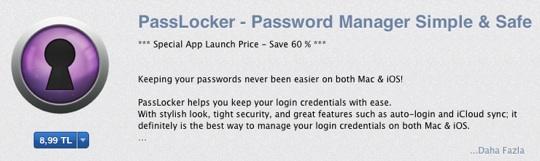 sihirli elma passlocker 19 PassLocker ile şifrelerimiz güvende ve her zaman yanımızda!