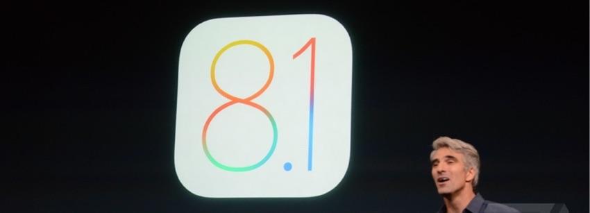 iOS 8.1 Yazılım Güncellemesi Yayınlandı