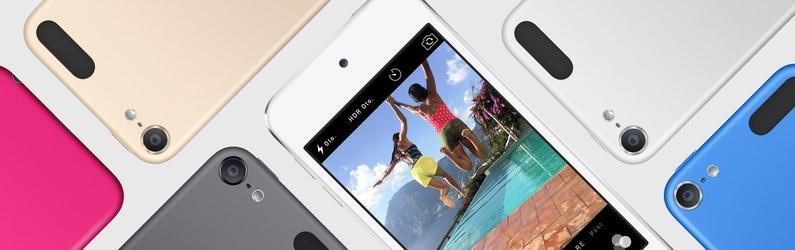 iPod touch yenilendi, nano ve shuffle'a yeni renkler eklendi