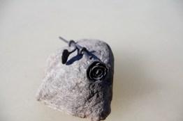 Silas Metall Konst i Uppsala smider vackra unika gravstensrosor