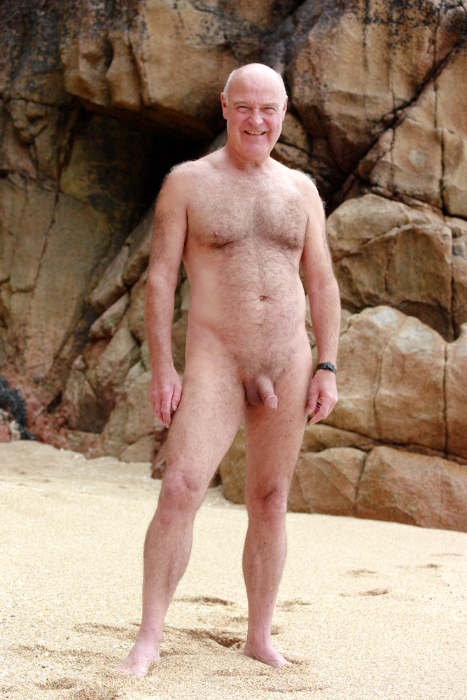 rugged naked men hard