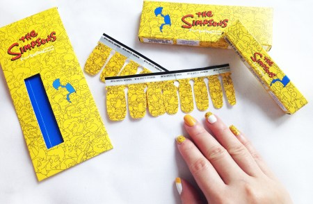 MAC x The Simpsons Nail Stickers