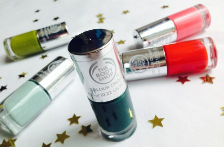 The Body Shop Colour Crush Nail Polish Fall 2014 picks