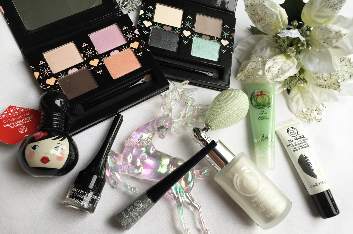 Doll or Frost Up with The Body Shop Holiday 2014 Makeup Collection!