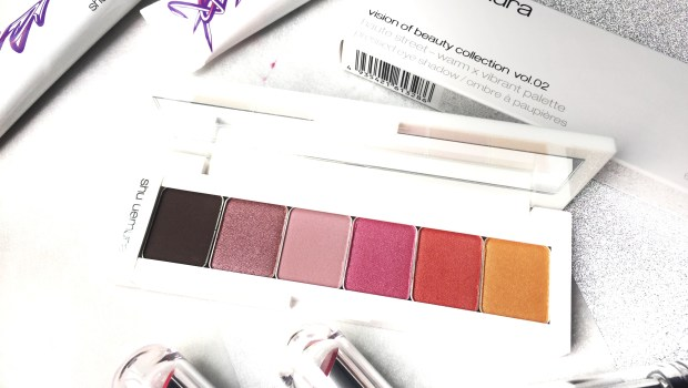 Shu Uemura Haute Street Vision of Beauty Vol 2 Warm x Vibrant Palette