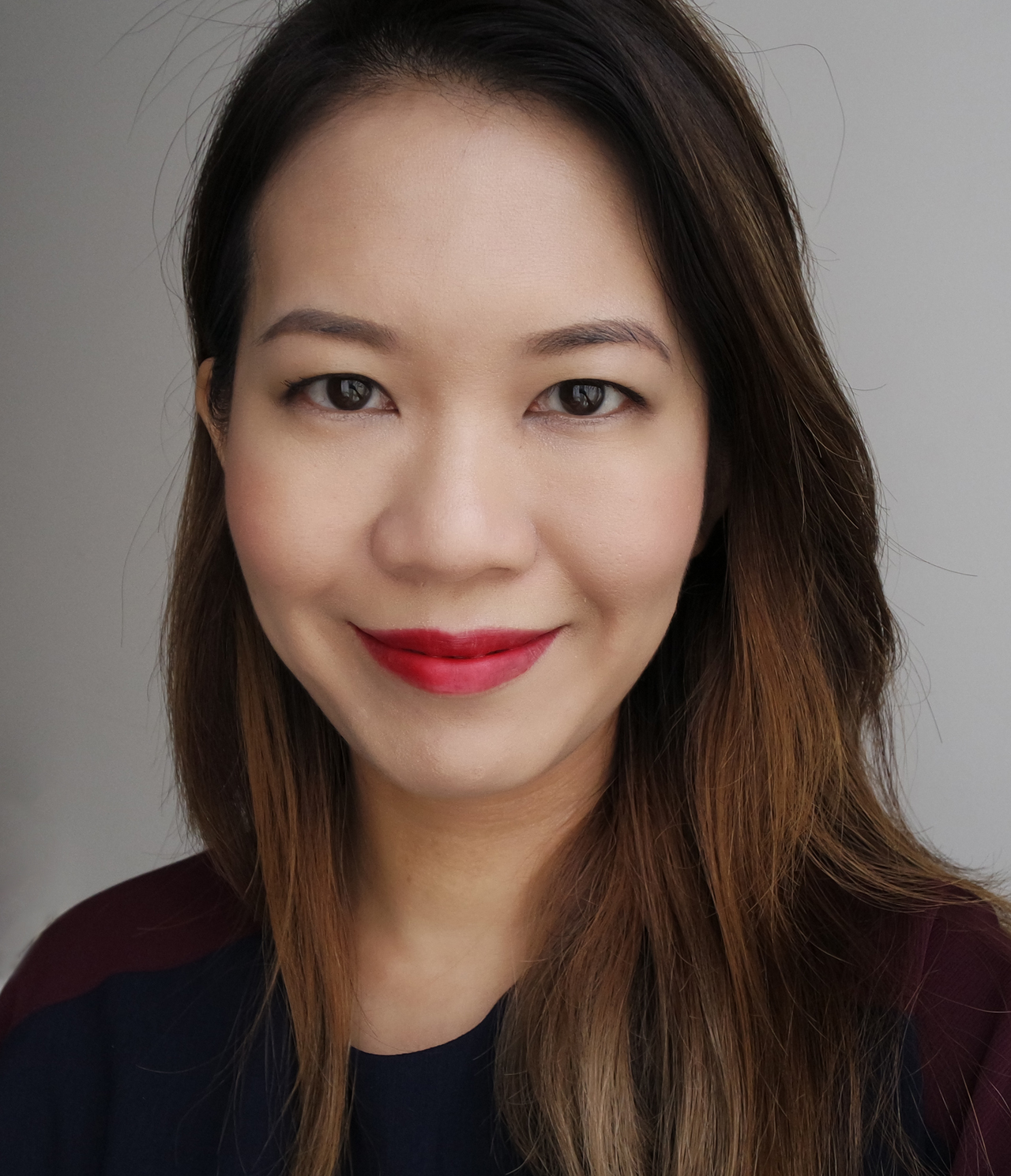 Chanel Rouge Allure Ink 148 Libere makeup look
