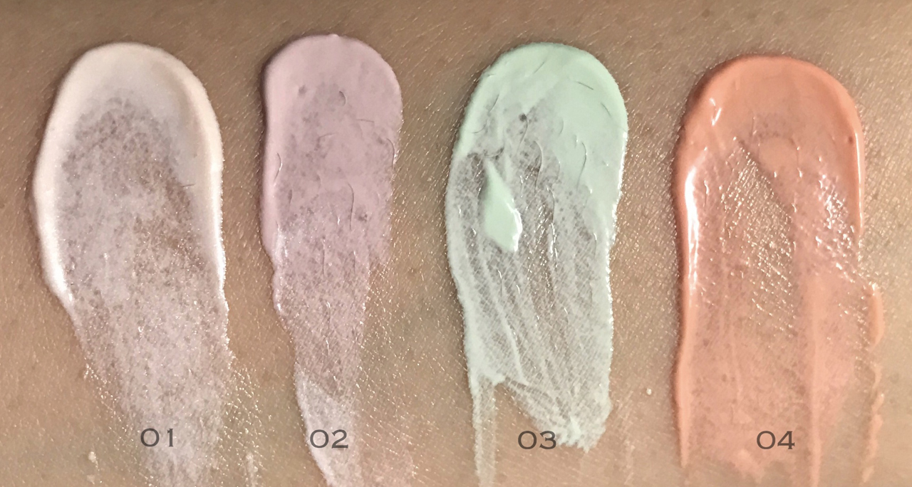 RMK Basic Control Color swatches
