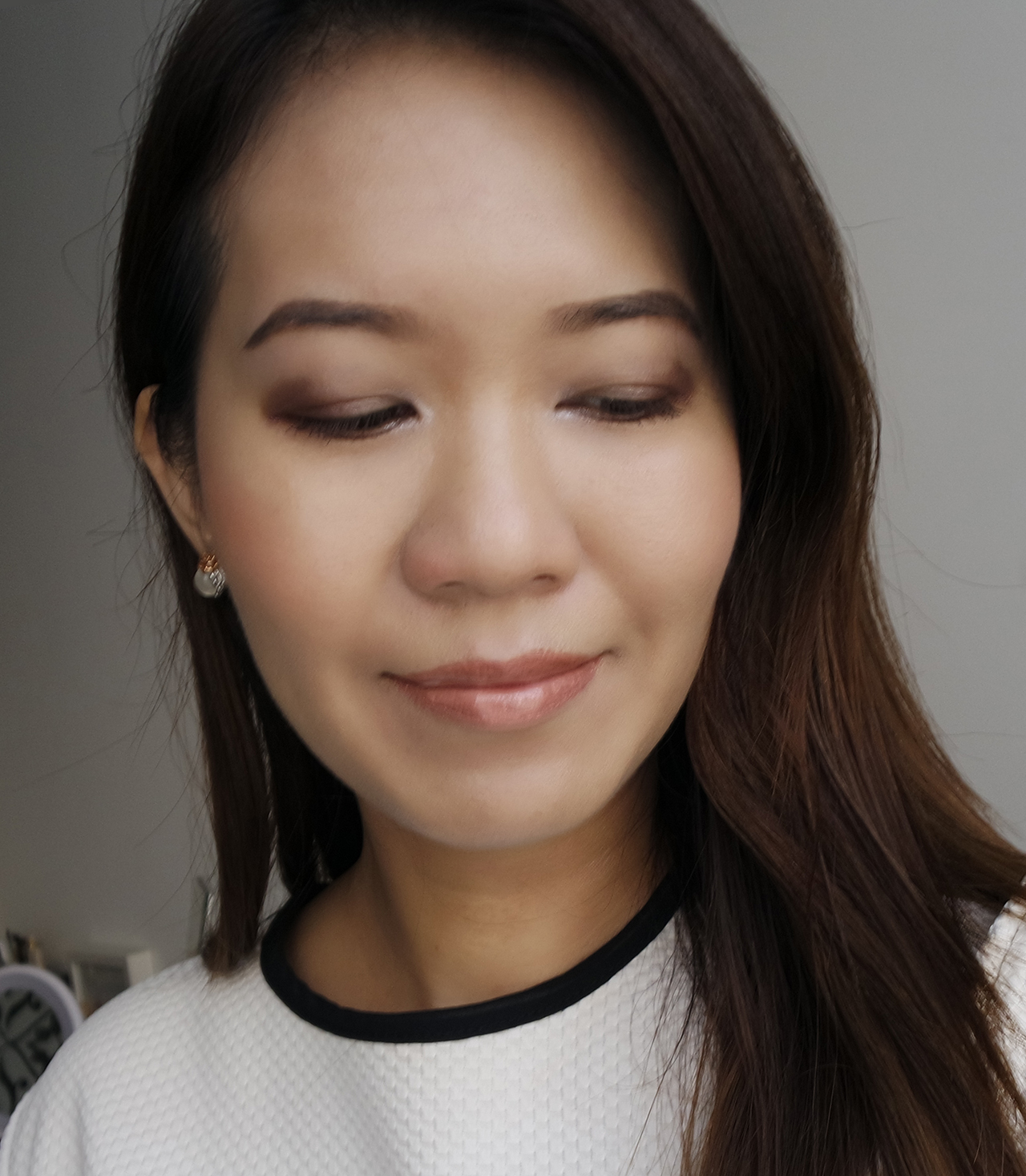 RMK Color Mosaic makeup look