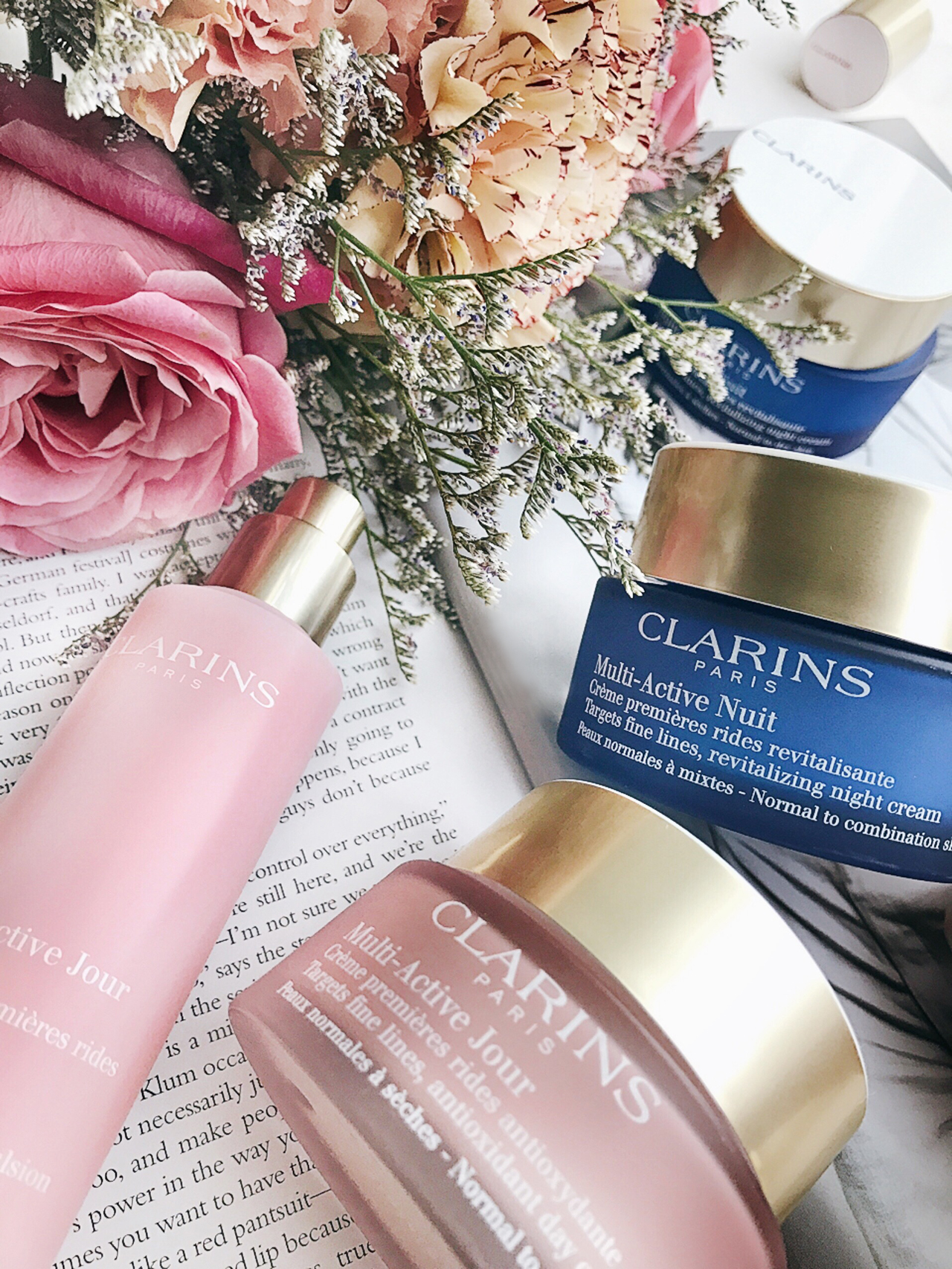 Clarins Multi-Active Day & Night Cream