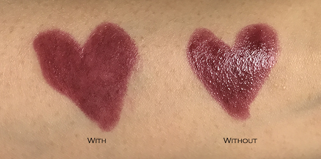 YSL Set & Matte Lip Coat comparison