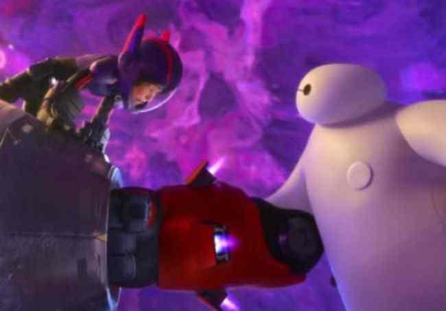 Hiro and Baymax in the Vortex Photo: Disney