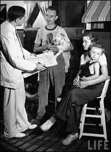 Indiana Census Taking from Life Magazine - 1940