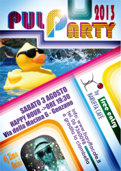 locandina pool party