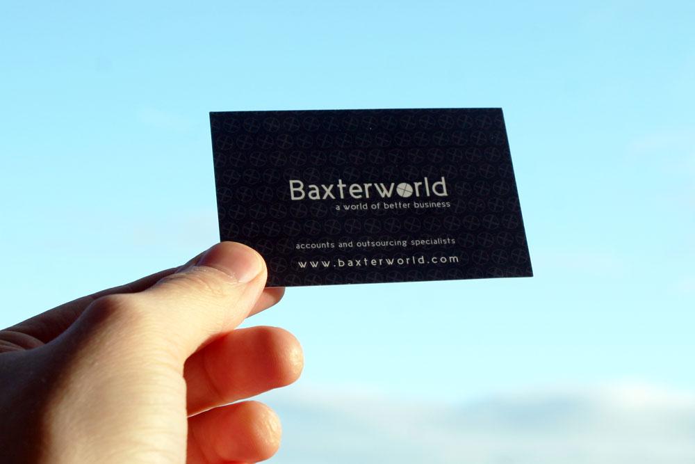 Business Cards Baxterworld