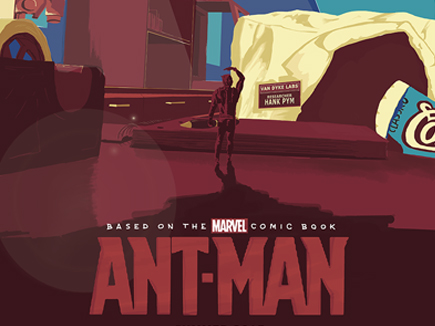 Ant-Man Poster Design (Teccles Cake Set)