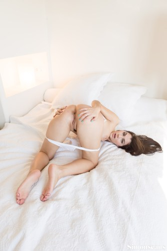 Valentina Nappi on the bed