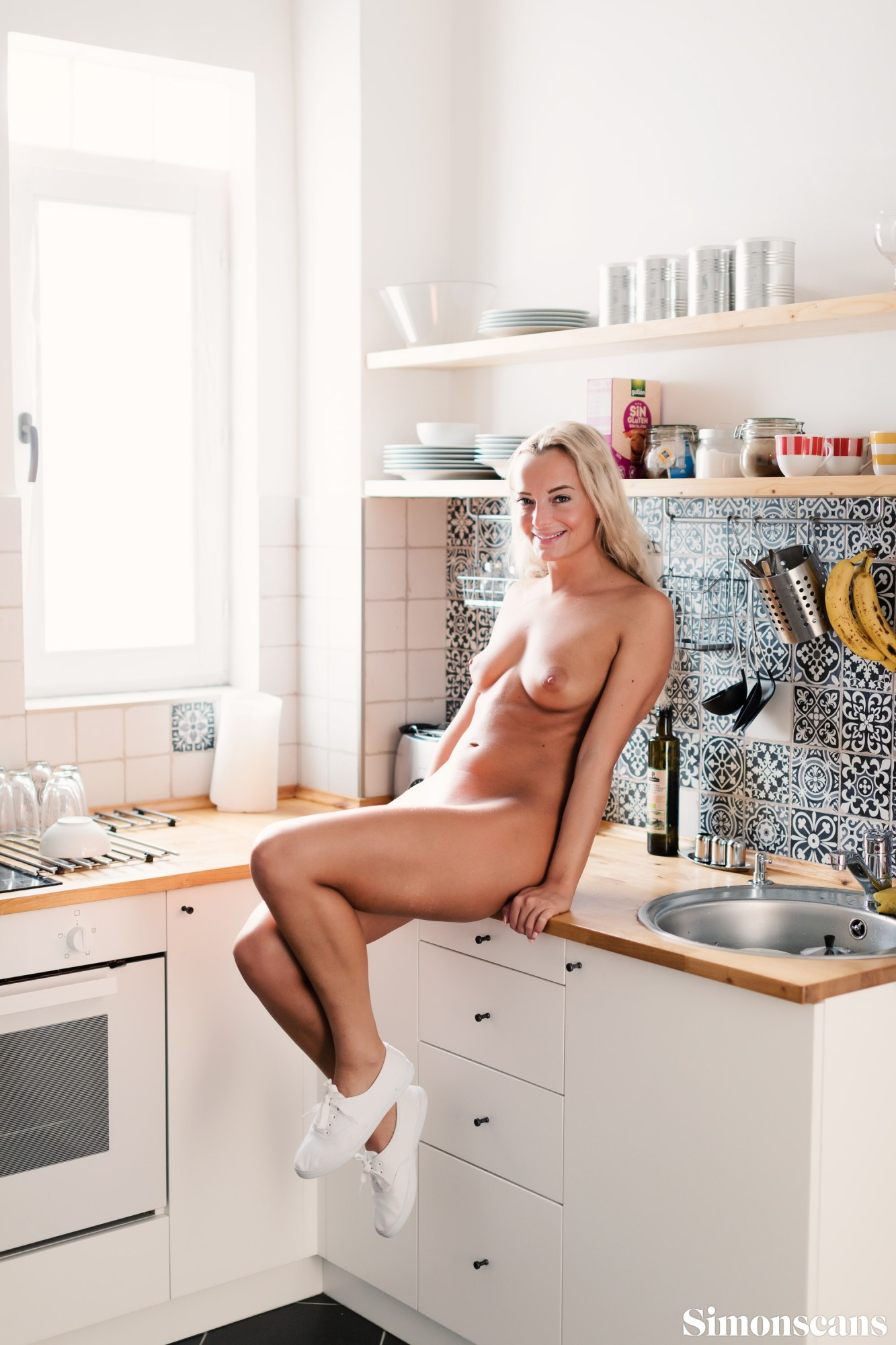 Victoria in the kitchen