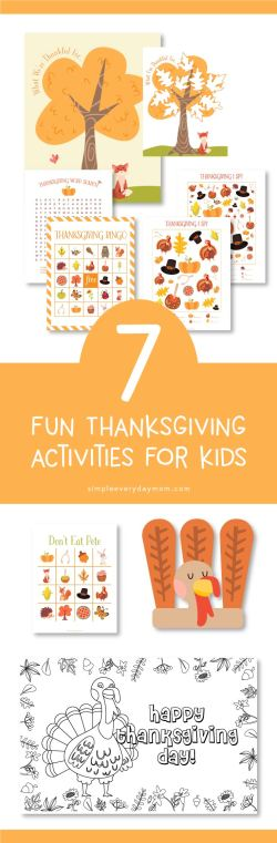 Small Of Thanksgiving Games For Kids