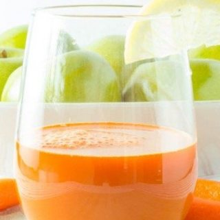 """Immune Booster"" Carrot Apple Juice"