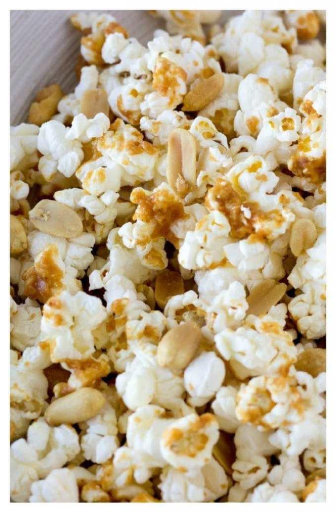 thai peanut popcorn