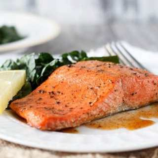 Spiced Honey Baked Salmon