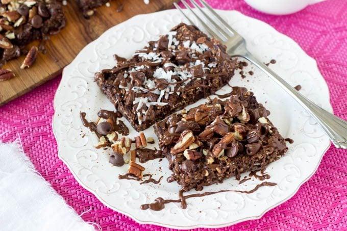 breakfast brownies 2 - SimpleHealthyKitchen.com