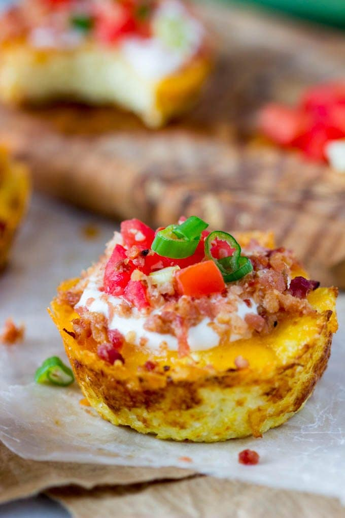 faux-loaded-potato-skins-cauliflower-muffin pinterest 2