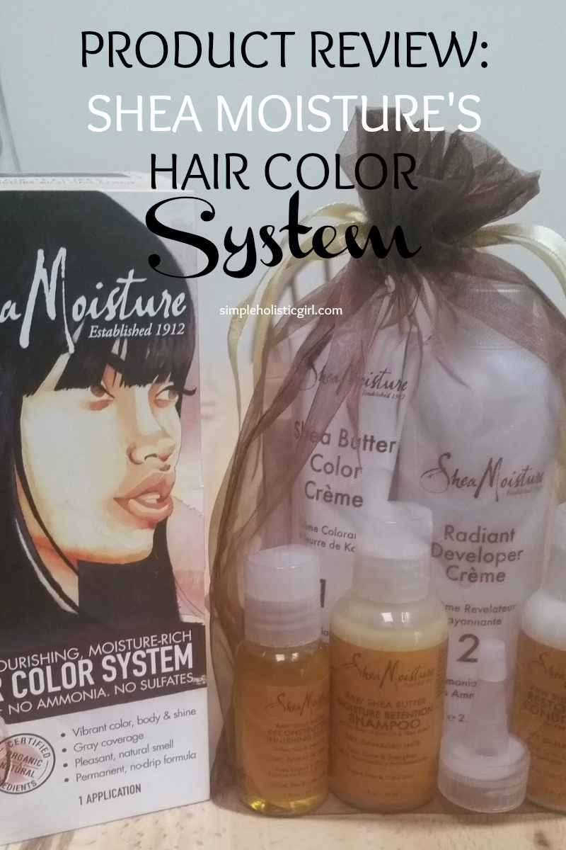 product review shea moisture's hair color system