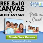 Free 8×10 Canvas from Canvas People