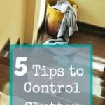 The Easiest Way to Control Clutter