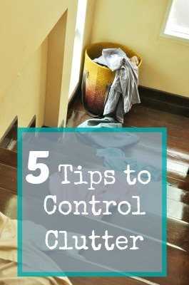 easiest ways to control clutter
