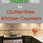 5 Simple Ways to Keep Your Kitchen Counters Clutter-Free