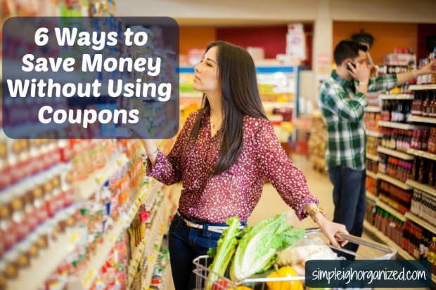 6 creative ways to save money without using coupons simpleigh organized. Black Bedroom Furniture Sets. Home Design Ideas