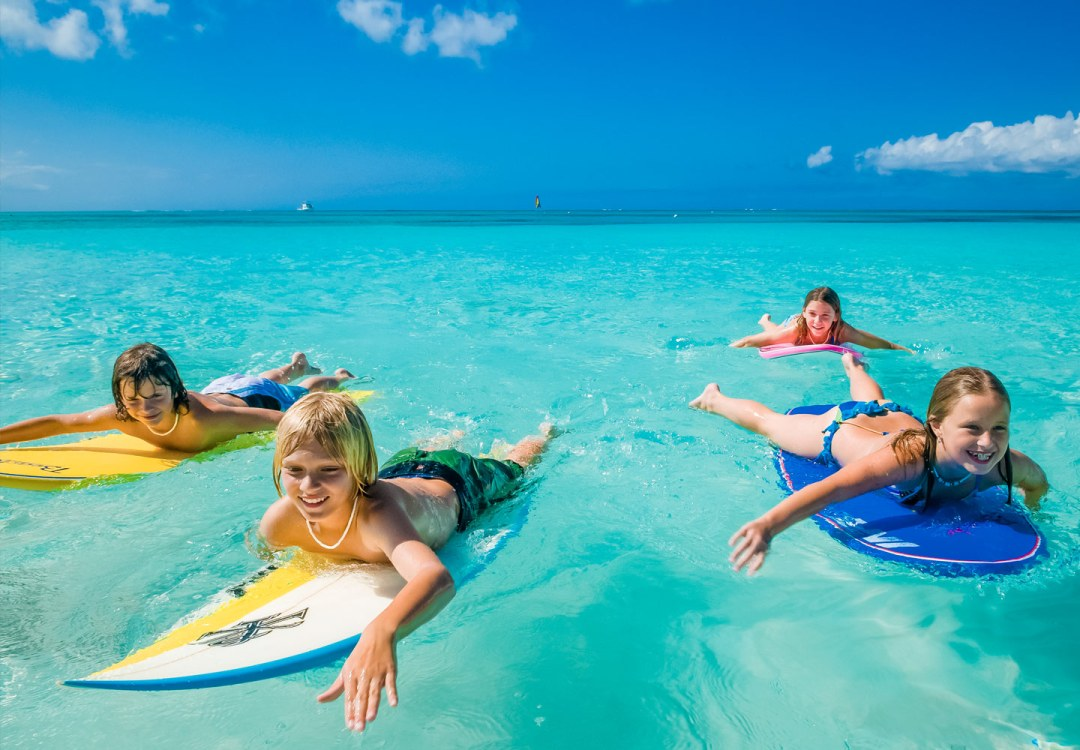 Beaches resorts are great for the whole family