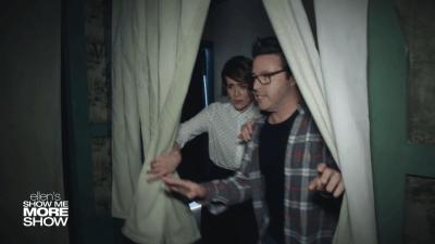 Ellen's Producer Andy Lassner Visits Haunted House - Simplemost