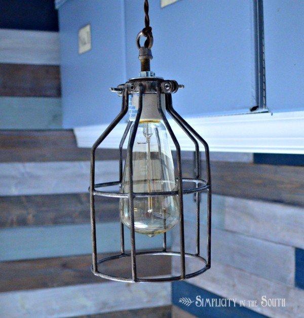 restoration hardware inspired industrial pendant lighting uncaged