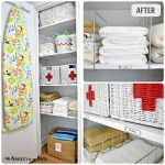 Linen Closet Organization: small home/ BIG IDEAS