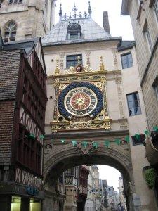 Rouen clock