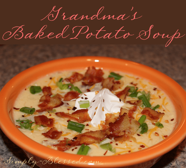 Grandma's Baked Potato Soup