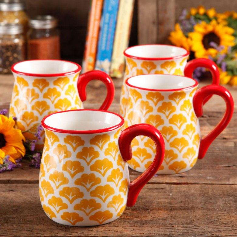 Pioneer Woman Coffee Cups