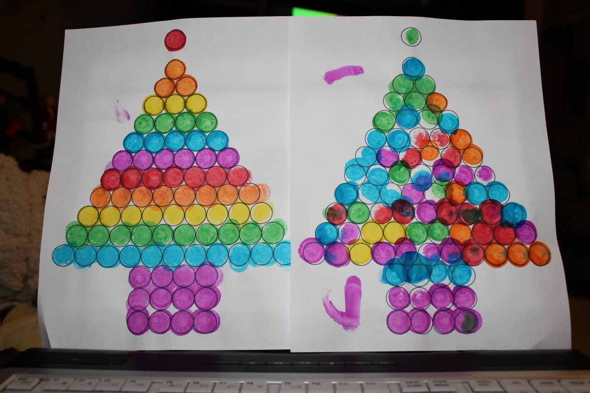 Do a Dot Christmas Tree Printable