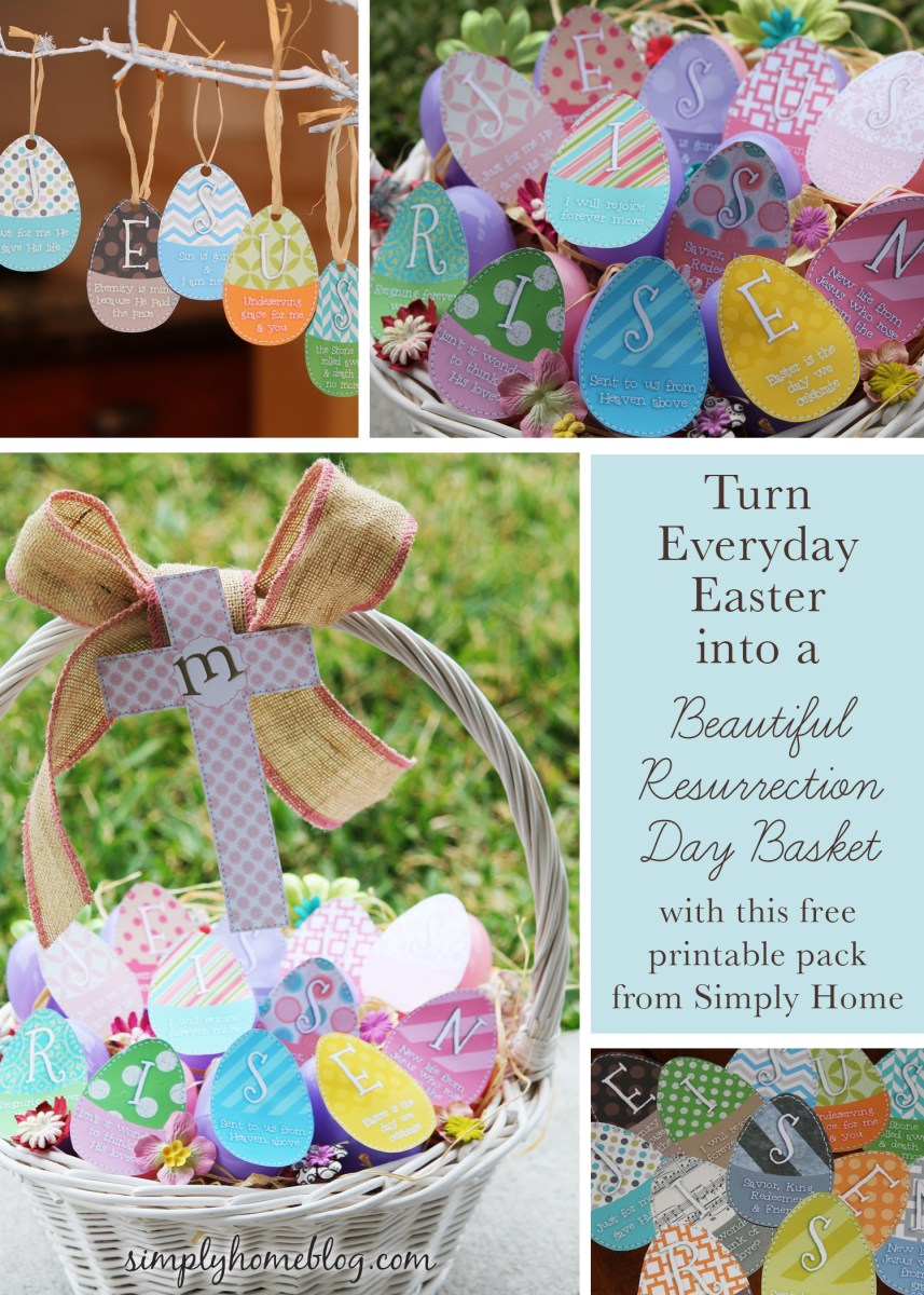 Resurrection Basket: Free Printable Pack
